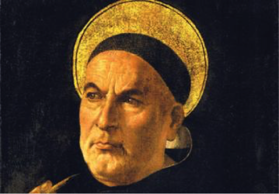 St. Thomas Aquinas - picture sourced from: thomasaquinas.edu